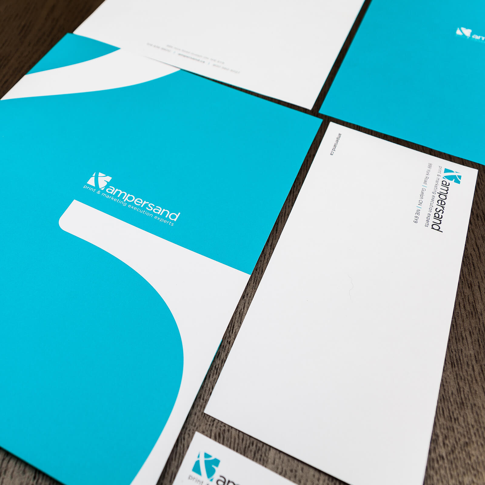 Ampersand Branding, Website & Marketing Collateral