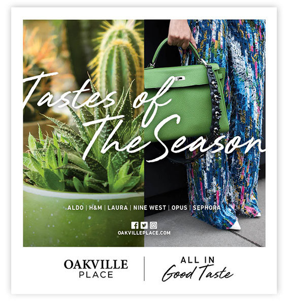 oakville place newspaper ad