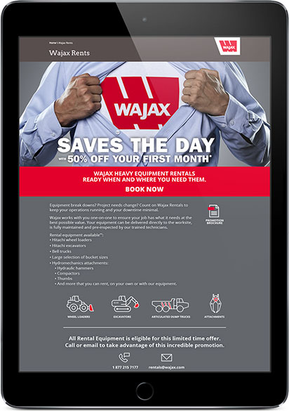 wajax digital ad