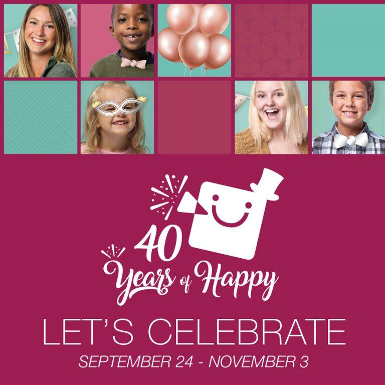 40 Years of Happy